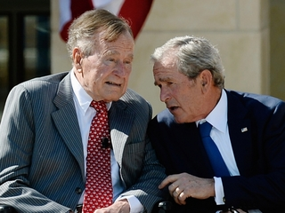 Bush 41 and Bush 43 probably won't endorse Trump