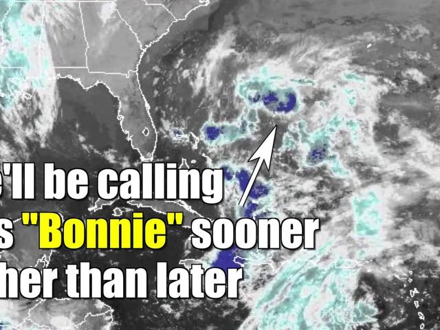 Almost Tropical Storm Bonnie