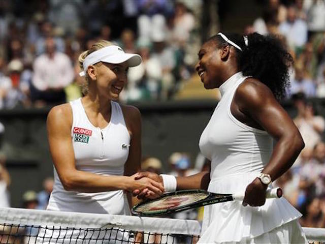 Kerber and Vesnina out to halt march of Williams sisters