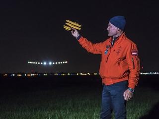 Solar powered plane makes it around the world