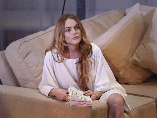 Lindsay Lohan 'loses half her finger'