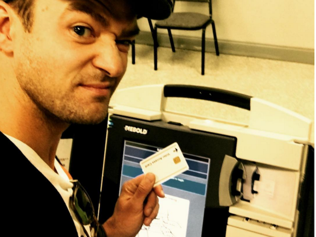 Did Timberlake break the law at the ballot box?