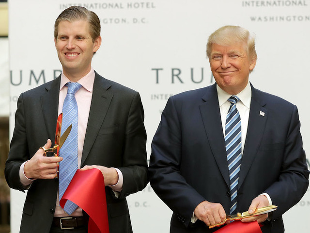 Eric Trump Welcomes His First Child!