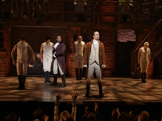 'Hamilton' breaks Broadway box office record