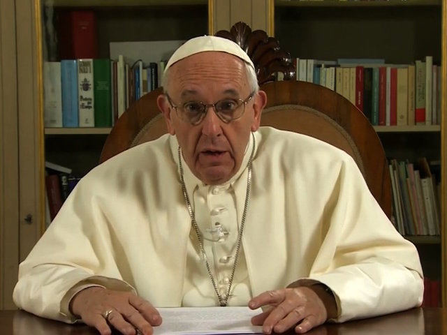 Pope Francis shares hopeful message in surprise TED talk