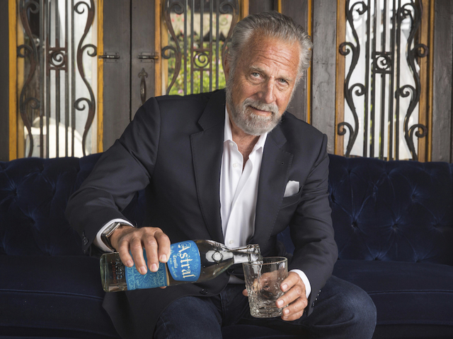 'The Most Interesting Man In The World' has graduated to tequila