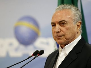 Brazil's president charged with corruption