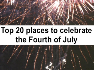 Best places to celebrate July Fourth