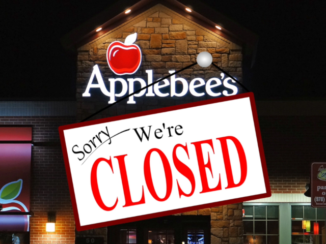 Applebee's Closing More Than 100 Locations, IHOP To Shutter 25 Restaurants
