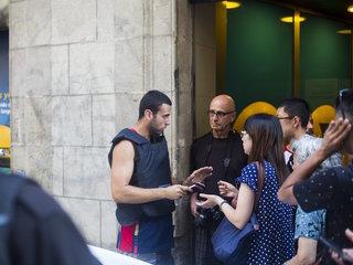 Police shoot man in Barcelona