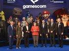 Angela Merkel spoke at a video game convention
