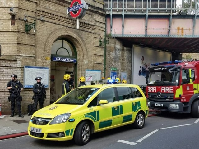 London Tube attack suspect identified as Syrian refugee