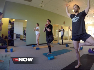 Yoga transforms life for veteran