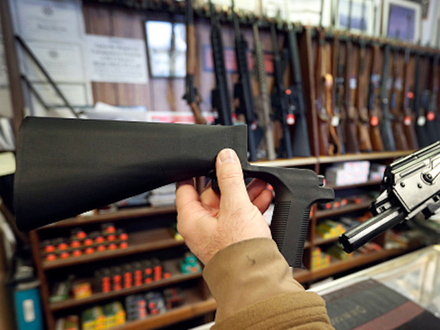 Local gun shops compare bump stocks to expensive toys