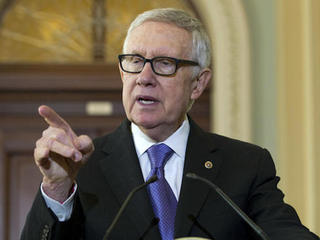 Senate Minority Leader Reid lashes out at Trump