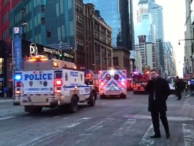 Pipe bomb strapped to man explodes in NYC subway, injuring 4