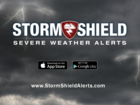 Weather app tracks the current storm system