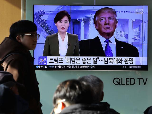 Moon, Trump agree to postpone joint military drills during PyeongChang Olympics