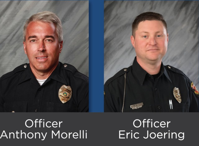 Two police officers shot and killed in Ohio