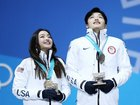Shibutani siblings win bronze for ice dancing