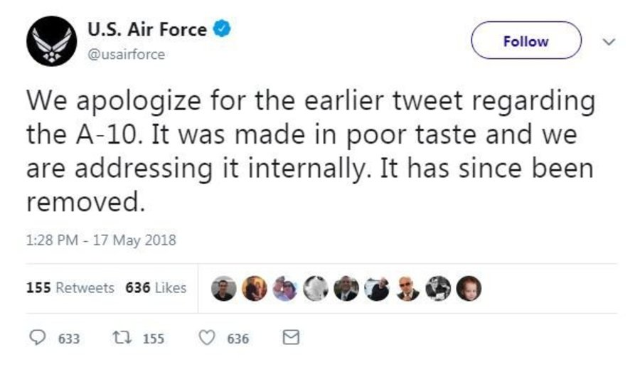 Air Force apologizes for 'Yanny' or 'Laurel' tweet - FOX 47 News WSYM Lansing, Jackson