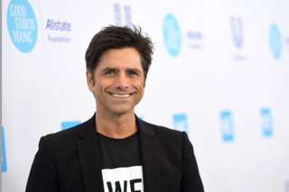 John Stamos shares photo of son's face