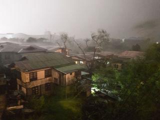 Typhoon Mangkhut kills at least two people