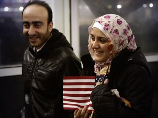 Comparing US' refugee cap to other nations