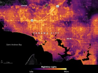 Satellite images show extent of power outages