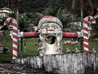 Look inside an abandoned Santa theme park