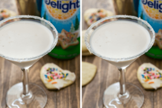 How to make sugar cookie martinis for holidays